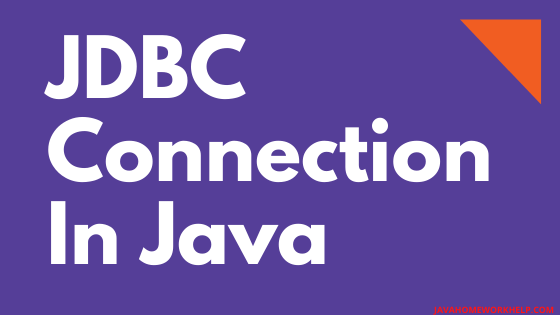 JDBC-CONNECTION